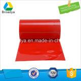 nastro adesivo laterale trasparente di Vhb della pellicola rossa di 0.8mm*50m doppio (BY3080C)