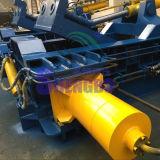 수평한 금속 고철 포장기 기계