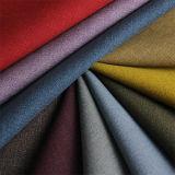 Cuero de la PU del Faux del Anti-Moho de la alta calidad para el sofá de los muebles de la tapicería