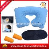Conjunto inflable impermeable plástico de la almohadilla del cuello