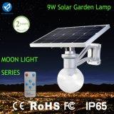 9W 12W動きセンサーが付いている屋外の太陽LEDの庭ランプ