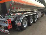 40klアルミ合金のタンカートレーラー40000リットルの高品質の燃料タンクの