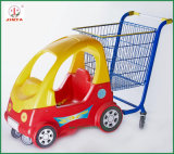 Einkaufszentrum-Gebrauch scherzt Selbstlaufkatze-Einkaufen-Karren (JT-E17)