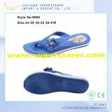 Duración Unisex EVA Directamente inyección Impreso Sole flip flop con decoración de zapatos