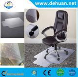 Rodillo plástico de la alfombra de la silla del PVC, estera de encargo del suelo del PVC