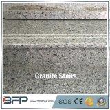 Passo azul Polished do granito de G954 Lemuriam para escadas & etapas da casa de campo
