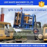 Vollautomatischer Block der Wante Marken-Qt8, der Maschine in der Vietnam-Preisliste herstellt