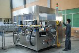 Máquina de control PLC papel puede etiquetado