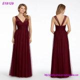 La obra clásica al por mayor de la manera diseña el vestido de noche Backless largo