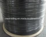 PVC上塗を施してある鋼線ロープ