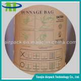 製品の損傷を避けるクラフト紙の空気荷敷き袋