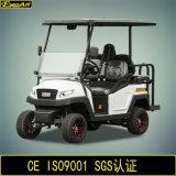 Магазинная тележкаа гольфа 4 Seater электрическая с местом кувырка