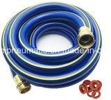 boyau flexible lourd de l'eau de jardin de PVC de *100FT de 1/2 '' avec l'ajustage de précision en laiton