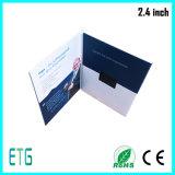 2.8 дюйма - поздравительная открытка LCD высокого качества видео-, тональнозвуковая поздравительная открытка