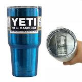Nam Wandelaar van de Tuimelschakelaar van de Koffie van het Voertuig van de Yeti de Koelere Vacuüm Geïsoleerdei toe