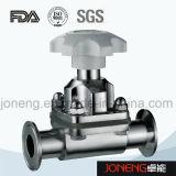 Нержавеющая сталь Санитарная 3 Way U Тип мембранный клапан (JN-DV1007)