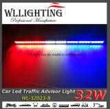 R/W/B de Lichten van de Adviseur van het Verkeer van de Waarschuwing van 35.5 Duim