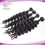 Stukken van het Menselijke Haar van het Haar van 100% de Maagdelijke Weft Indische