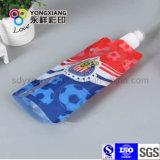 El color modificado para requisitos particulares se levanta la bolsa del canalón para el detergente de lavadero líquido