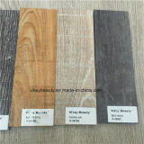 Vinyle en bois de cru parquetant la conformité imperméable à l'eau environnementale d'UE