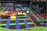 sosta del trampolino della fabbrica di alto salto con il pozzo all'ingrosso della sfera per i bambini