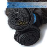 100%の人間のブラジルの毛の織り方(KBL-BH-DW)