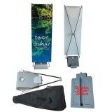 Exposição ao ar livre Banner X com caixa de água