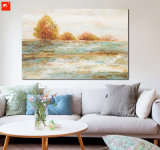 Het Af:drukken van de Kunst van het Canvas van het Eiland van het Beeld van de overzeese Muur van Golven