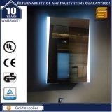 Specchio fissato al muro della stanza da bagno Backlit Lighte di vanità LED
