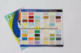 Película Borchure do lustro do cartão da impressão de cor cheia