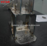 Peça fazendo à máquina do CNC da bucha para a peça da soldadura do Teleoperator