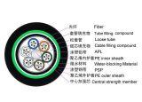 Câble fibre optique souterrain 96 d'utilisation d'enterrement normal de qualité 48 24 112 prix des faisceaux G652D G657A