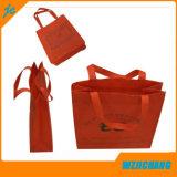 Sac non tissé de traitement d'emballage de sac à provisions de pp
