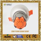 ÉPI Downlight 20W de fournisseur d'éclairage de DEL