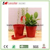 Flowerpots revestidos pó do metal para a decoração da HOME e do jardim