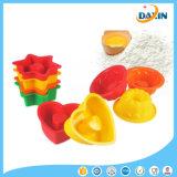 Moulage de catégorie alimentaire de gâteau de silicones de forme multi