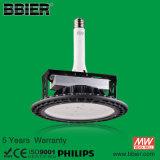 Alto luminoso 120 vatios LED de reequipamiento de la lámpara de la bahía de alta Kit con luz blanca fría