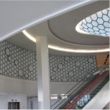 Naar maat gemaakte Plafond van het Comité van het aluminium het Stevige met het Ontwerp van de Manier
