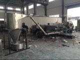 Máquina de mistura de plástico de fibra de vidro de dois estágios para enchimento Masterbatch