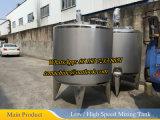 Réservoir de mélange de mélange 1500L d'acier inoxydable de réservoir de 10 gallons
