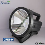 Nuevo recargable 30W LED Spotlight, luz de búsqueda LED 7.4V 4400mAh de litio 1500m