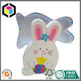 Коробка подарка бумаги картона формы кролика зайчика пасха