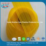 Bruderhao-entfernt lichtdurchlässiger gelber weicher Vinyltür-Vorhang Rolls