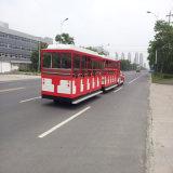 Korean Parchi di divertimento divertente elettrico senza tracce Train