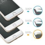 3Dは端のiPhone7のためのデザインによってエッチングされた緩和されたガラススクリーンの保護装置を曲げた