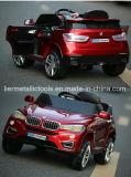 BMW 포도주 붉은색 색깔 원격 제어 아이 차
