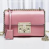 本革のメッセンジャー袋のCrossbodyの2017人の女性のショルダー・バッグEmg4777