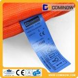 imbracatura piana della tessitura del poliestere resistente 10t/imbracatura di Web/imbracatura di sollevamento
