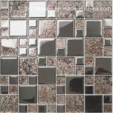 Dekorative Kristallglas-Mosaik-Fliese für Wand (FY4823)