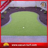 Artificial&#160 sintético; Golf O relvado da grama verde de colocação atapeta a esteira